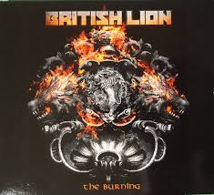 <b>British Lion</b>* - The Burning (2020, CD) | Discogs