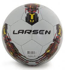 Футбольный <b>мяч Larsen Futsal</b> Sala <b>№4</b> white купить, цены в ...
