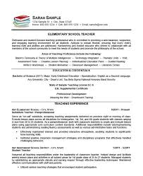 elementary school teacher resume example sample librarian resume examples