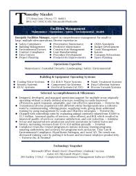 cover letter executive resume example professional executive facilities professional design resume format for it manager