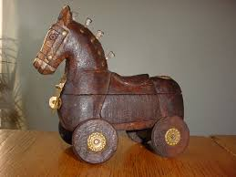 troy stories today literary and popular culture trojan horse from an antique store in pennsylvania