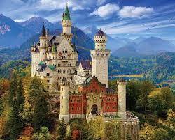 <b>Neuschwanstein Castle</b> - 1000 Piece <b>Jigsaw Puzzle</b> – White ...