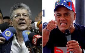 Resultado de imagen para jORGE rODRIGUEZ Y henry Ramos Allup