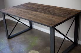 reclaimed wood office furniture project description attractive office desk metal