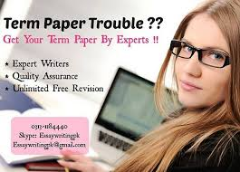 Term Paper Writing Service