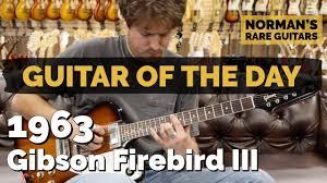 <b>Guitar</b> of the <b>Day</b>: 1963 <b>Gibson</b> Firebird III | Norman's Rare <b>Guitars</b> ...