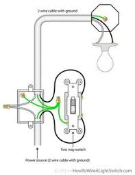 light outlet 2 way switch wiring diagram kitchen 2 way switch power feed via the light switch how to wire a light