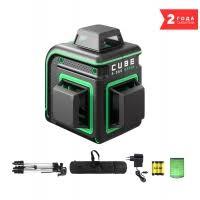 <b>Лазерный уровень ADA</b> CUBE 3-360 GREEN PROFESSIONAL ...