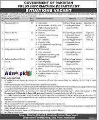 job opportunities in press information department govt of job opportunities in press information department govt of for fresh new various jobs