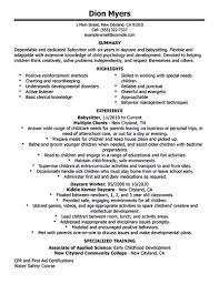 advance job duties of a babysitter inspiration shopgrat job cover letter personal resume template babysitter objective resume objective for