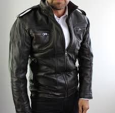 2018 <b>AX</b> Leather <b>Jacket</b> Distressed <b>Black</b> - XSMALL
