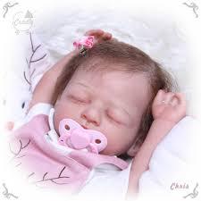 NPK 52CM <b>bebe</b> doll reborn <b>newborn baby full</b> body <b>silicone</b> ...