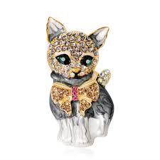 European and American <b>fashion personality</b> lovely <b>green eye</b> kitten ...