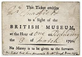「1759, British Museum was opened to public」の画像検索結果