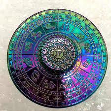Съемный Радуга круг шестиконечный чистый Медь <b>Спиннер</b> ...