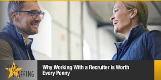 Why Working With a Recruiter is Best | California Staffing Working with a Recruiter