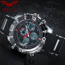 Wolf cub <b>Men</b> Sport Watches <b>Dual Display</b> LED Digital Analog ...