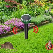 solar ultrasonic repeller mole snake