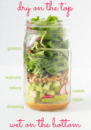 """must see diagrams that will make eating healthy super easy   for the new """"it"""" food  the mason jar salad  beth   eat"""