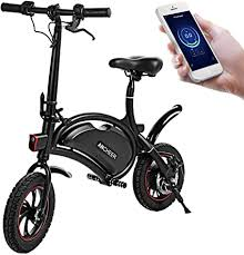 ANCHEER Folding Electric Bicycle E-Bike Scooter ... - Amazon.com