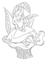 Small Picture Kids n funcom 16 coloring pages of Alice in Wonderland