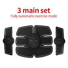 <b>Rechargeable Wireless</b> Muscle Stimulator Smart Fitness EMS ...