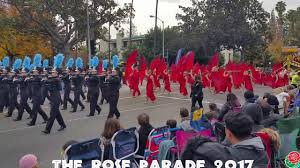 The Rose Parade Marching Bands 2017 - YouTube
