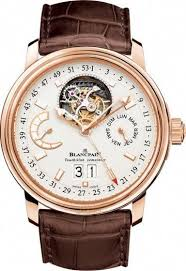 Blancpain Leman Tourbillon Grand Date Rose <b>Gold</b> 2925-3642-53B ...
