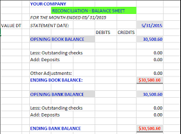 how to reconcile your business or personal account pptx on emaze of the balance sheet enter your book balance from your check book or your personal ledger balance sheet will show no adjustment to both accounts
