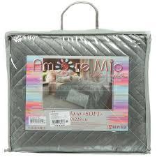 <b>Покрывало</b> (<b>200х220</b> см) флок, <b>Amore</b> Mio Sharp серый 3941 в ...
