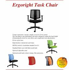 ergoright 25001kb office chair absolute office interiors
