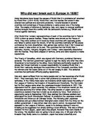 causes of world war  essay dbq  term paper academic servicecauses of world war  essay dbq