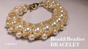 <b>Браслет из бисера</b> и бусин | Bead&Beadies BRACELET - YouTube