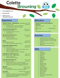 ideas about teaching resume on pinterest   teacher resumes    owl teaching resume  buy the template for just