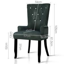 Artiss Cayes <b>Grey French</b> Provincial Dining <b>Chair</b> | Bunnings ...