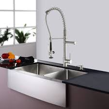 Stainless Steel Kitchen Faucets Kitchen Sink Faucet Image Of Brass Kitchen Sink Faucet With