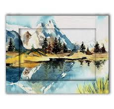 <b>Картина с арт рамой</b> Пейзаж 45х55 — купить по цене 8490 руб в ...
