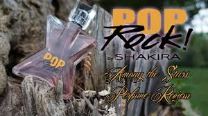 <b>Shakira</b> Pop <b>Rock</b> Perfume Review Among the Stars Perfume Reviews