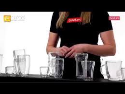 BODUM <b>стаканы</b> с <b>двойными</b> стенками - YouTube