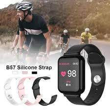 New For B57 <b>Smart Watch Replacement Silicone</b> Wrist Strap High ...