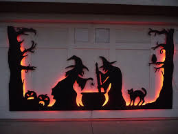 halloween gallery wall decor hallowen walljpg  halloween garage door
