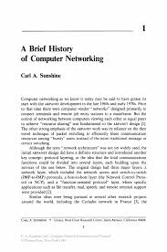 a brief history of computer networking springer computer network architectures and protocols computer network architectures and protocols