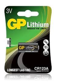 <b>Батарейка</b> литиевая <b>CR123A</b> 1шт <b>GP</b>