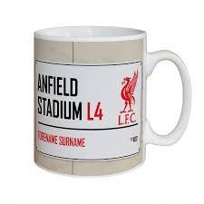 <b>Liverpool FC Street</b> Sign Mug