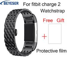 Купить Steel watchbands For Fitbit Charge 2 Srtap for Fitbit Charge ...