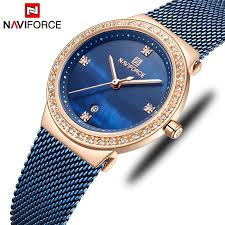 NAVIFORCE Women Quartz Watches Female <b>Fashion Luxury Rose</b> ...