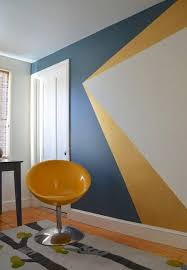 bedroom painting designs: add a personal touch by experimenting with paint to create a striking ffeature wall mask middot blue bedroom painting ideaspaint