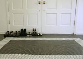 Hexagon Tile Floor Patterns 30 Penny Tile Designs That Look Like A Million Bucks