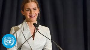 <b>Emma Watson</b> at the HeForShe Campaign 2014 - Official UN Video ...