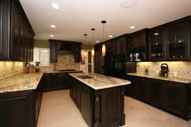 Kitchen Wall Covering Kitchen Colors With Oak Cabinets And Black Countertops Foyer